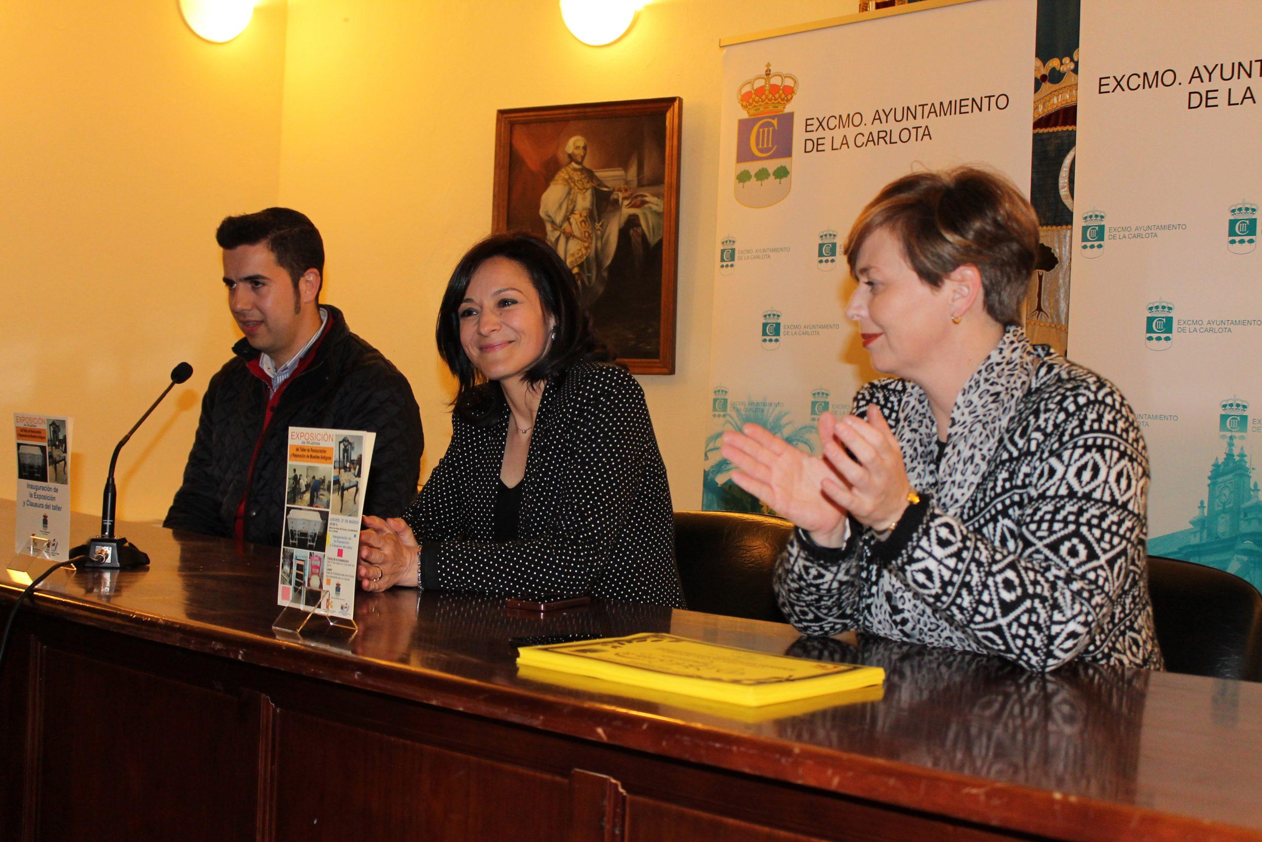 La Carlota finaliza con la clausura del 'Taller de pintura y decoración de muebles' el Programa anual de fomento y colaboración con los municipios y entidades locales autónomas de Diputación de Córdoba 2013 1