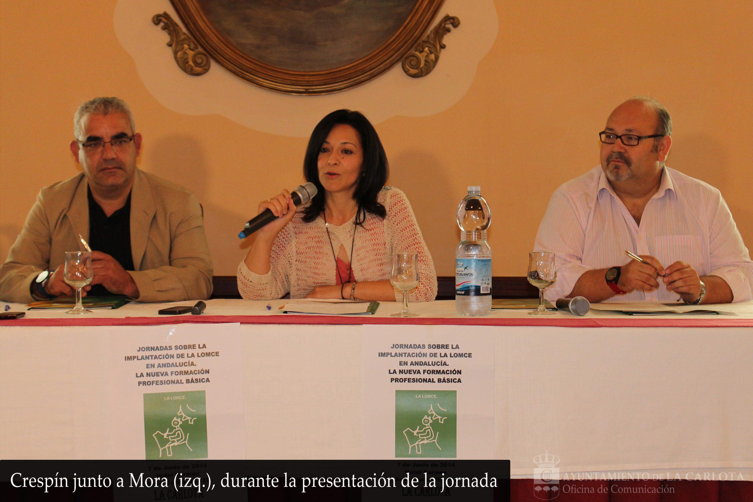 La Carlota acoge una jornada sobre la implantación de la LOMCE en Andalucía 1