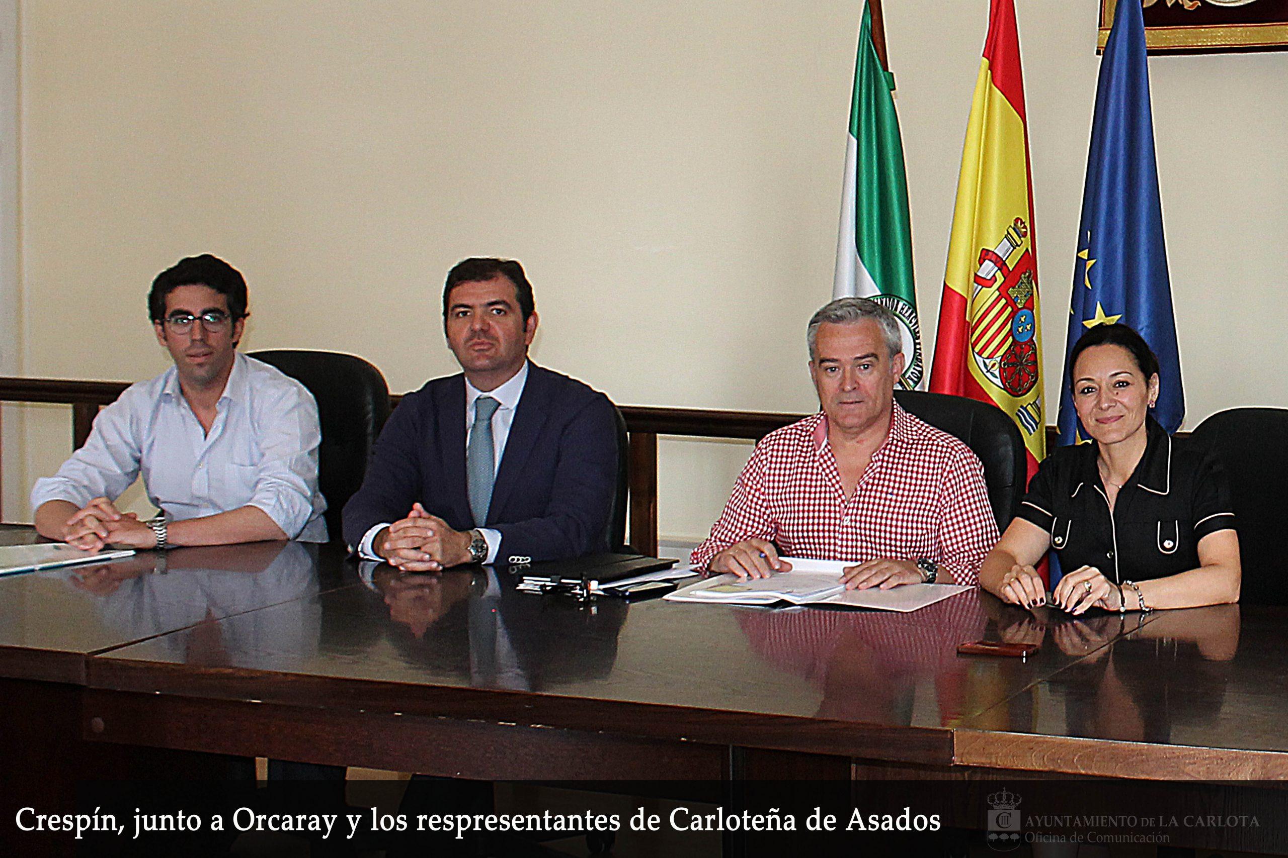 El G.D.R. firma contratos de ayuda del Programa LiderA para subvencionar inversiones en el sector agroalimentario de La Carlota y Fuente Palmera 1