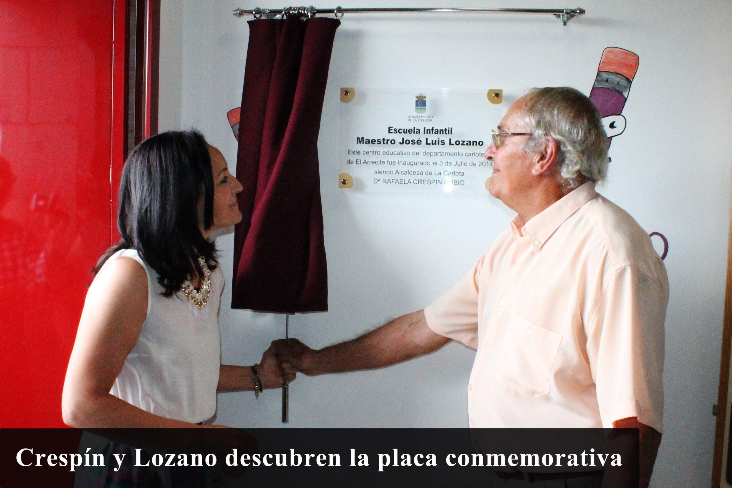Inaugurada la nueva Escuela Infantil 'Maestro José Luis Lozano'  1