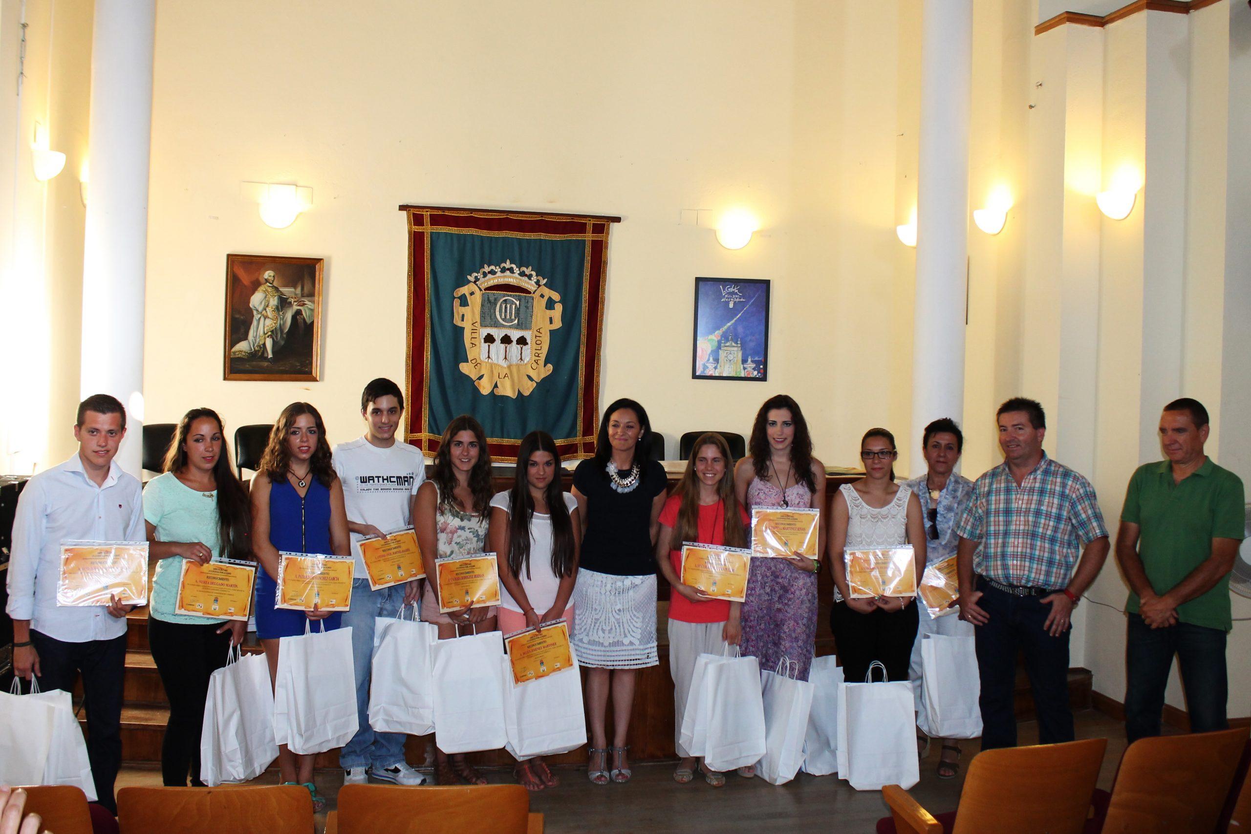El AMPA El Búcaro entrega un reconocimiento a los mejores expedientes y notas de Bachillerato y Ciclo de Grado Superior 1