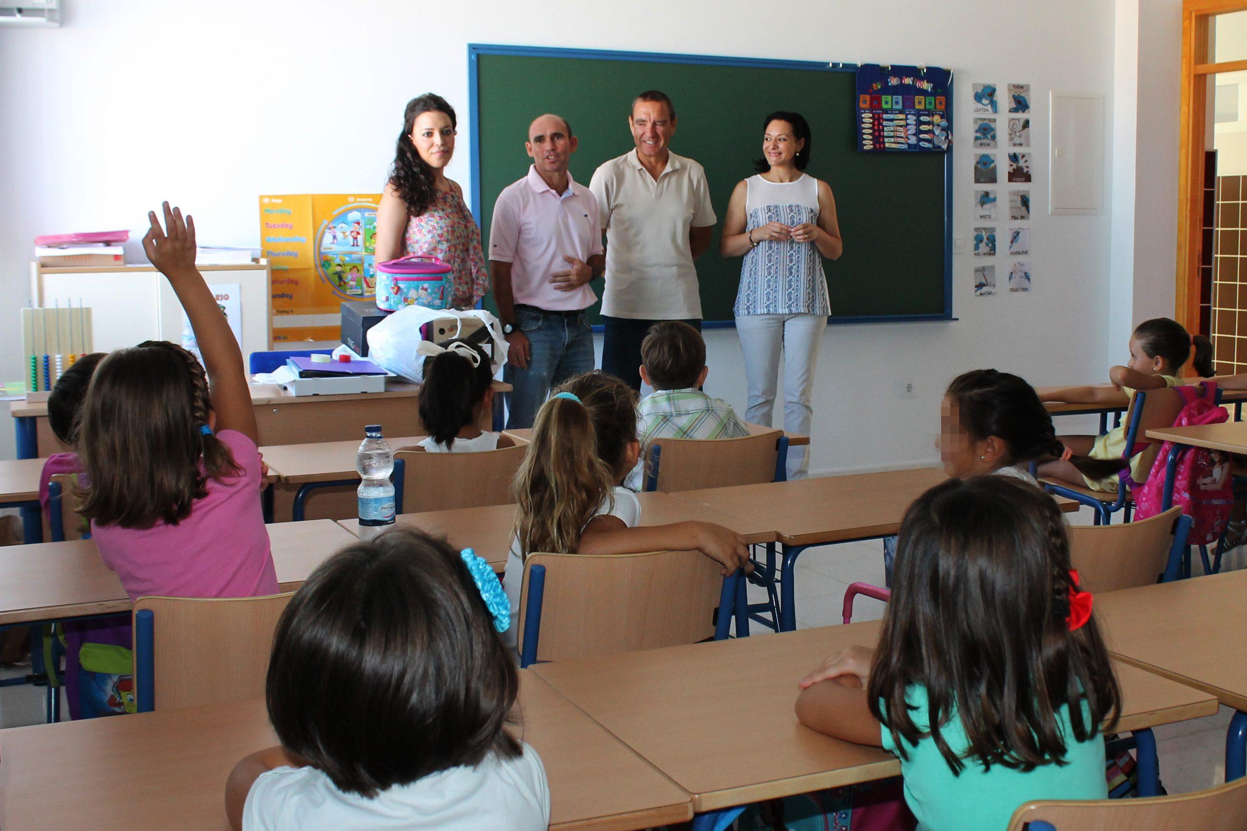La Carlota comienza el curso de Infantil y Primaria con 1500 niños/as 1