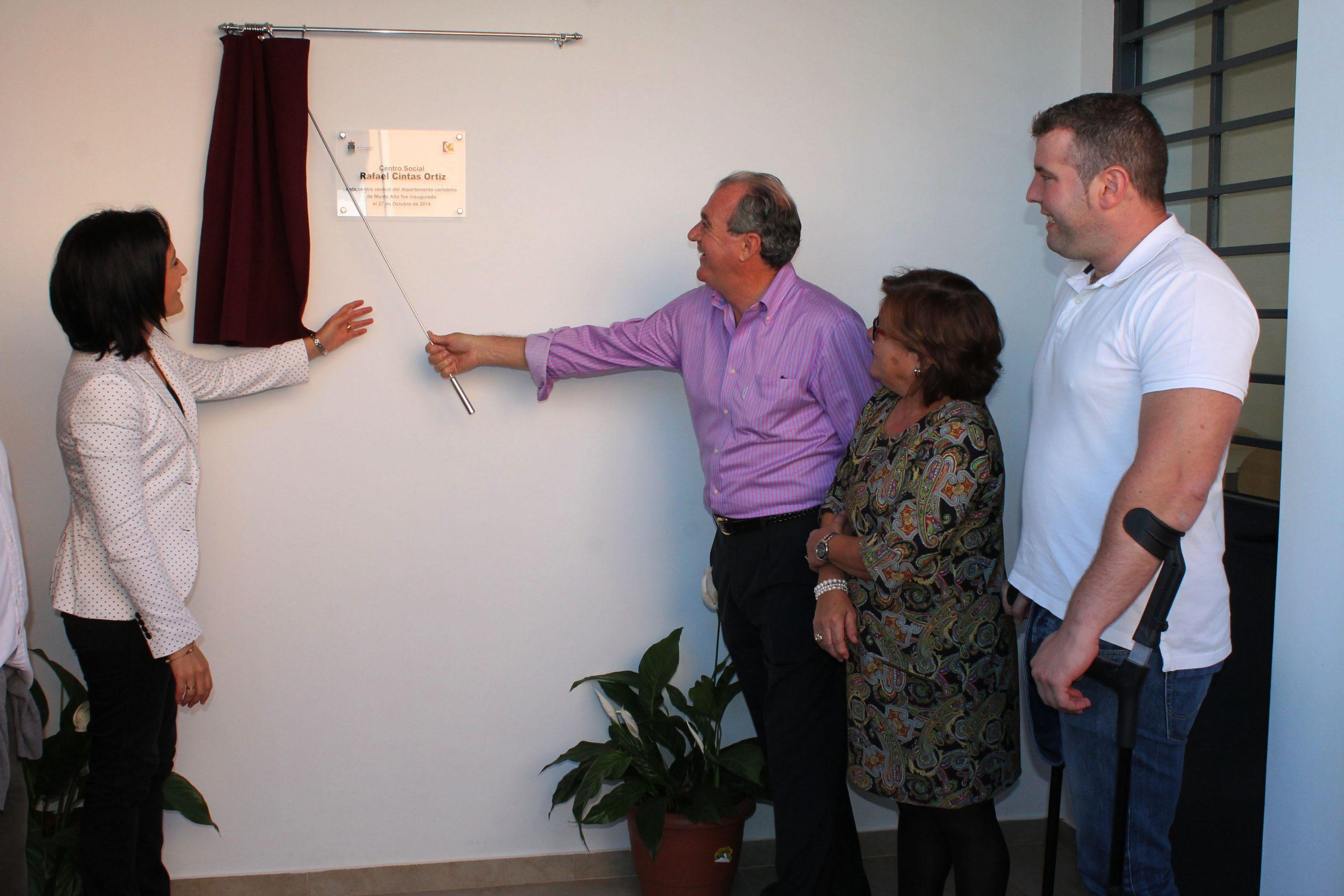 Monte Alto inaugura su centro social 'Rafael Cintas Ortiz'  1