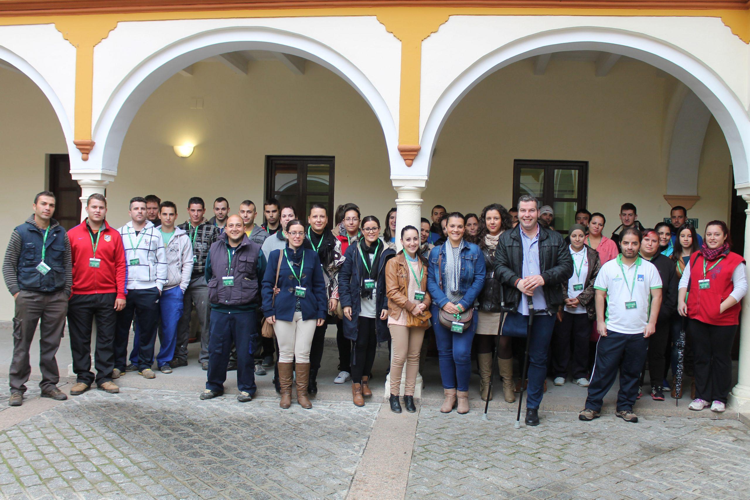 El Programa Emple@joven se inicia con la contratación de 43 carloteños/as 1