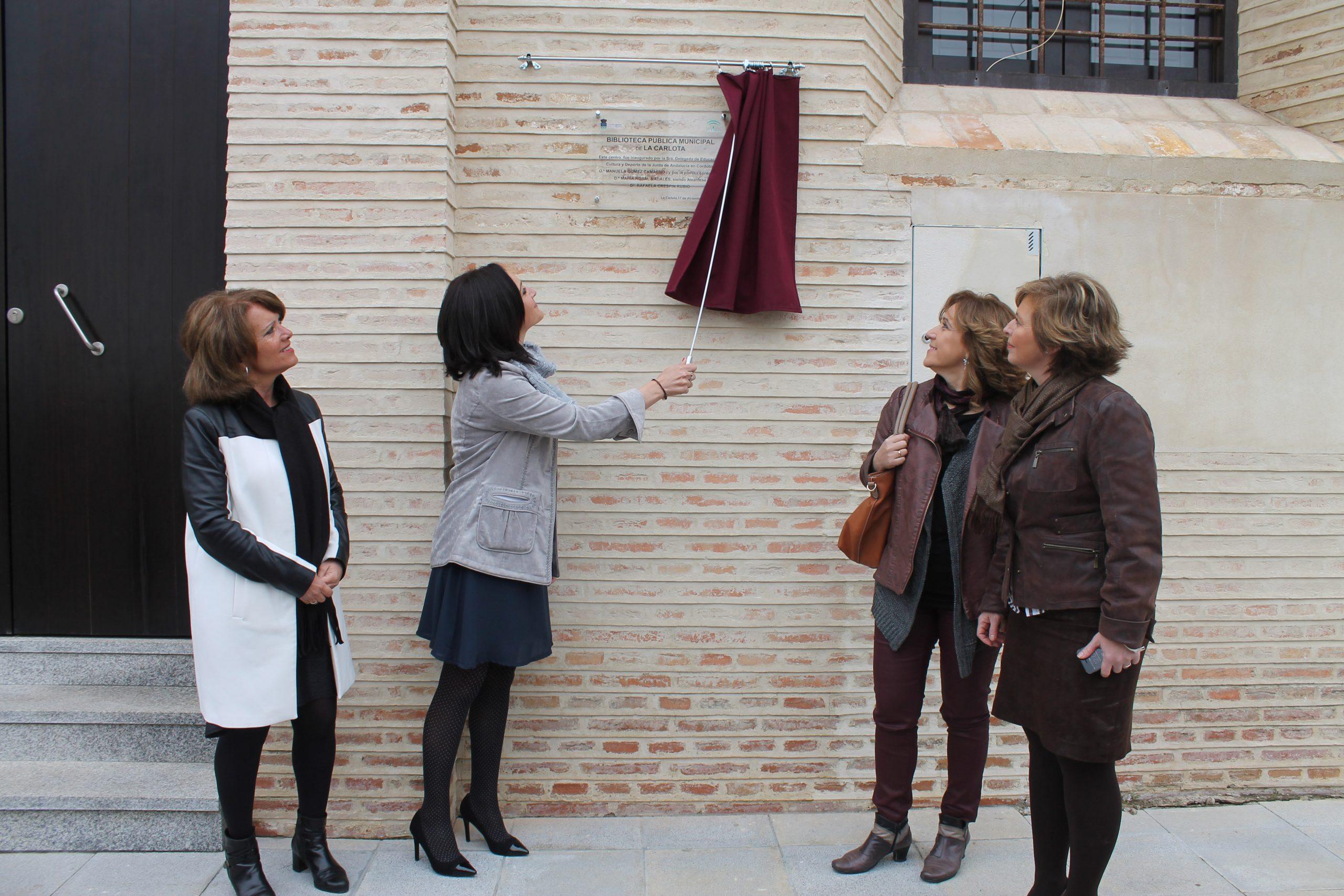 La Carlota abre su nueva Biblioteca Municipal en la Posada Real 1