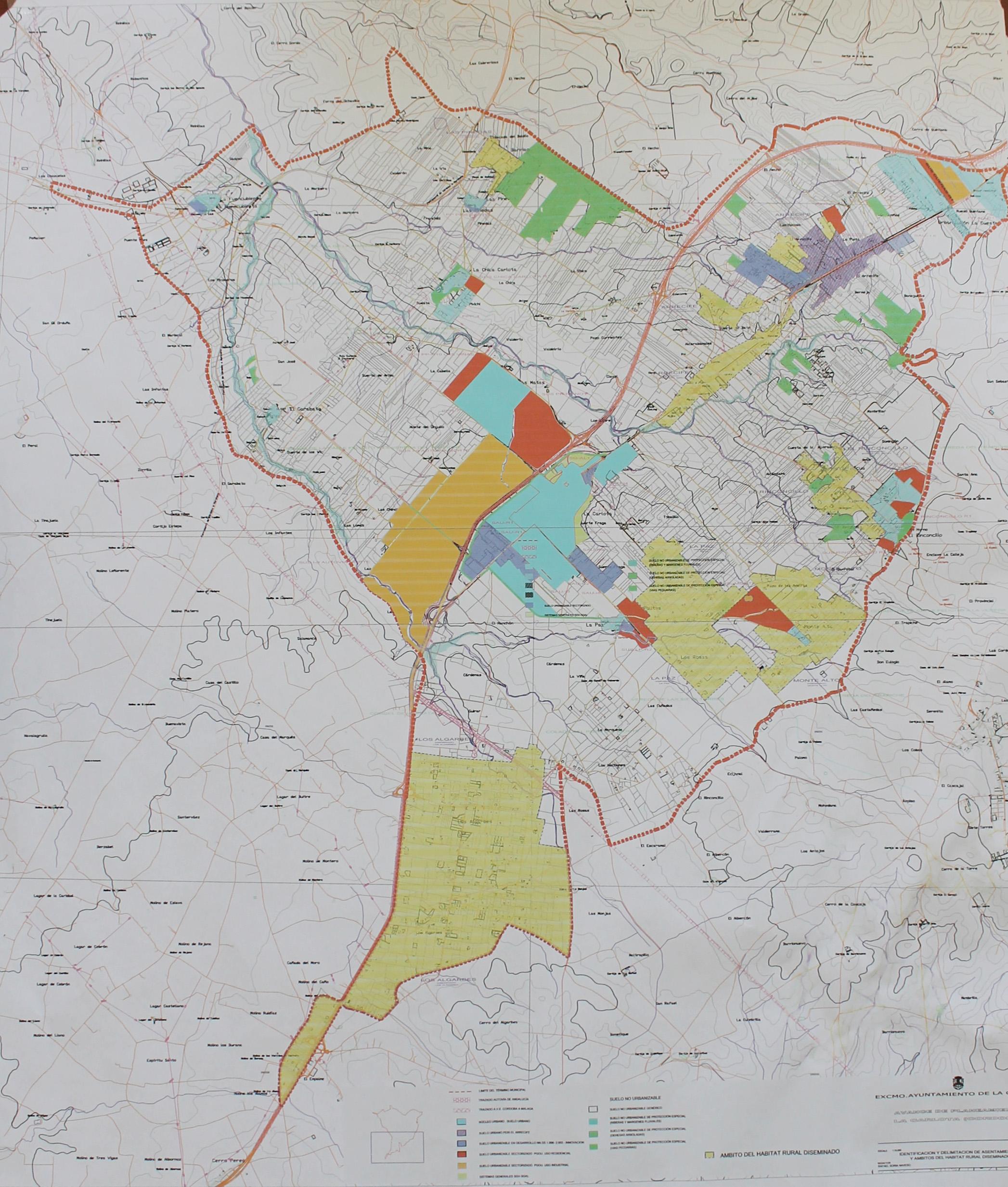 Se aprueba el comienzo de una innovación del PGOU de La Carlota para reconocer los ámbitos del Hábitat Rural Diseminado del municipio 1