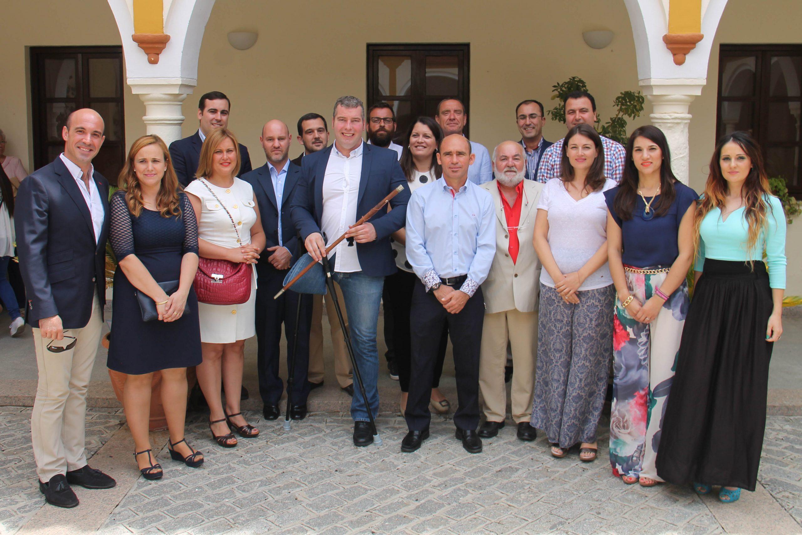 El Ayuntamiento de La Carlota se constituye para el mandato 2015-2019 1