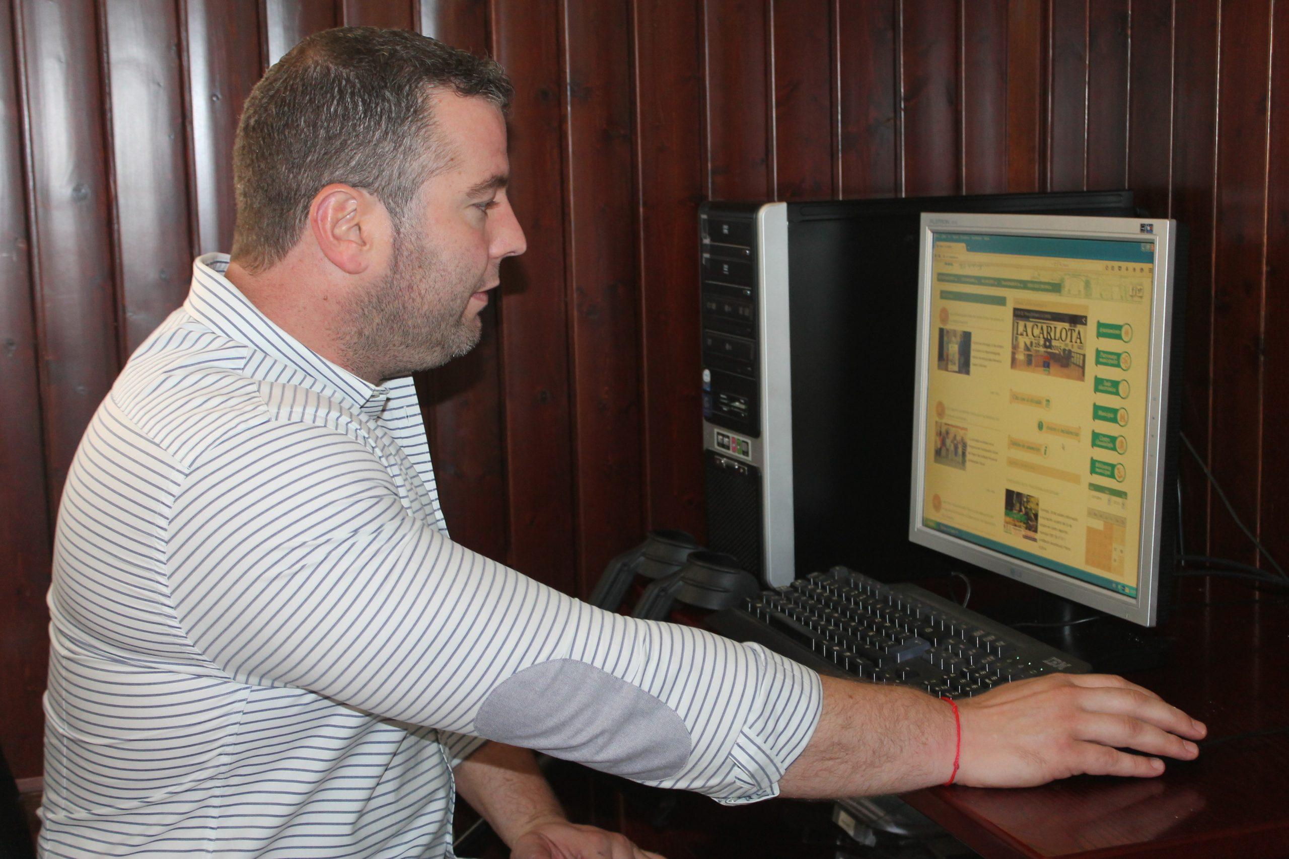 El Ayuntamiento activa el servicio web para comunicar avisos e incidencias y pedir cita al Alcalde 1