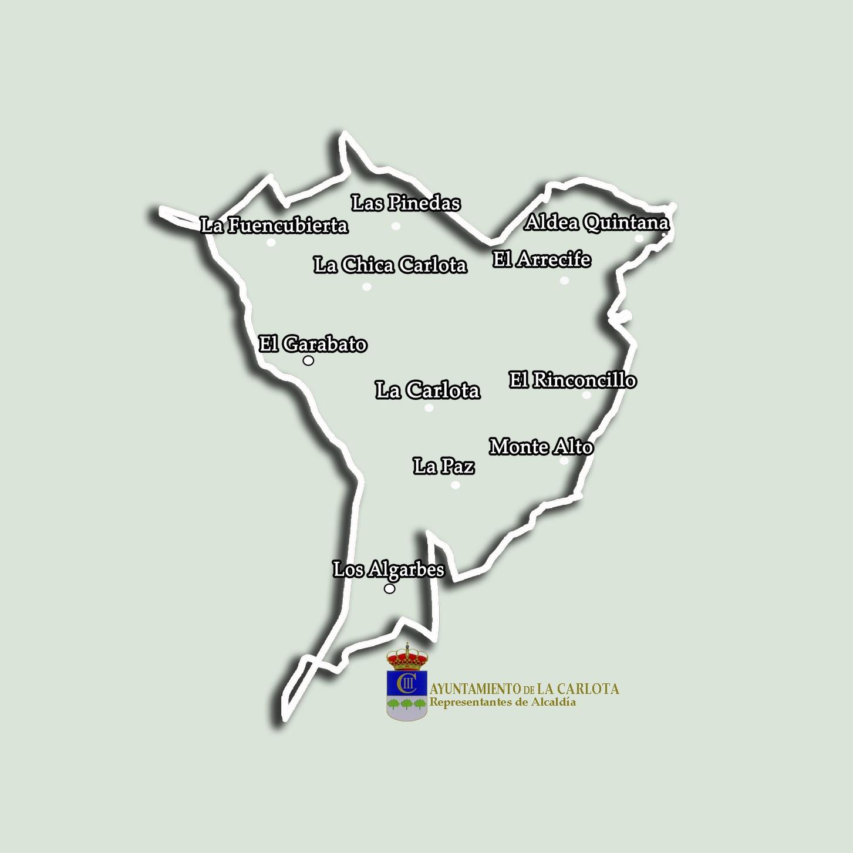 LAS BARRIADAS DE LA CARLOTA Y LAS PEDANÍAS YA CUENTAN CON SUS NUEVOS REPRESENTANTES DE ALCALDÍA 1
