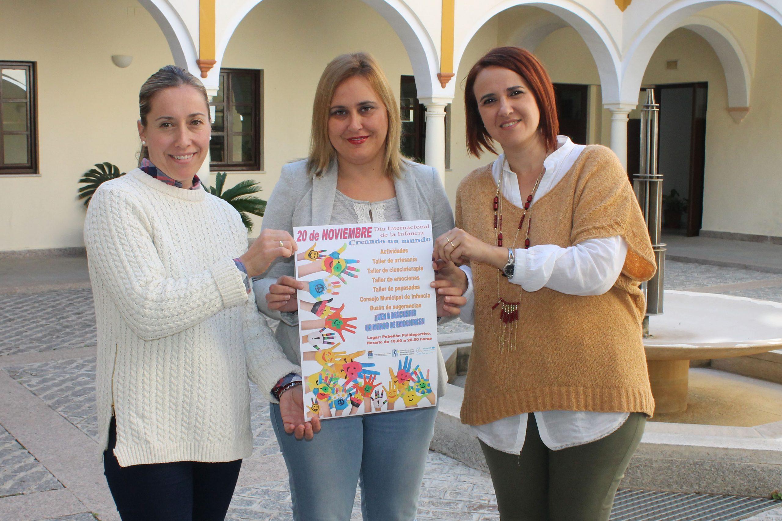 LA CARLOTA CONMEMORA EL DÍA INTERNACIONAL DE LA INFANCIA CON LA ACTIVIDAD 'CREANDO UN MUNDO' 1