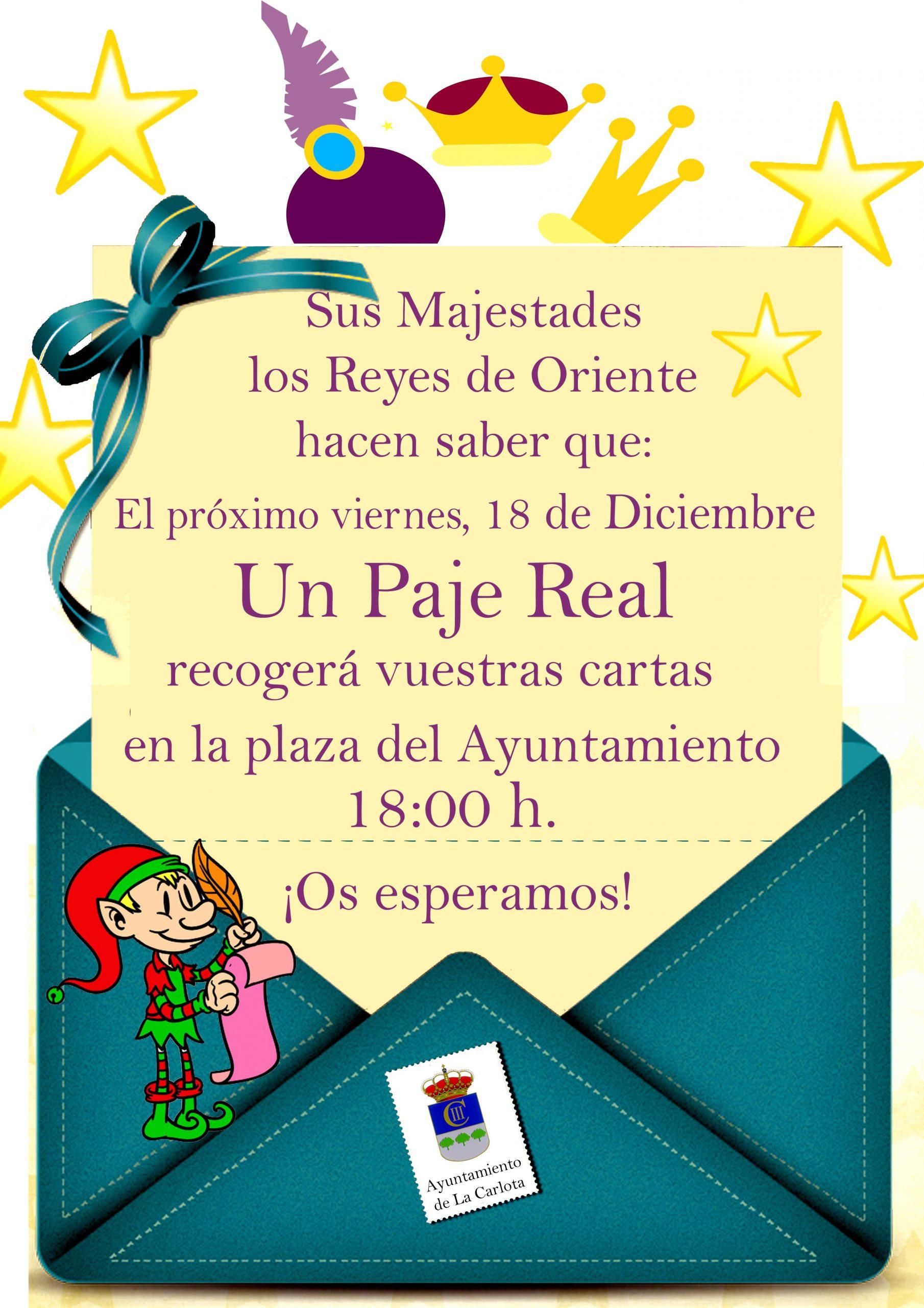 RECOGIDA DE CARTAS DE REYES MAGOS 1