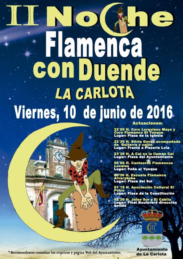 II Noche Flamenca con Duende y shopping night 1