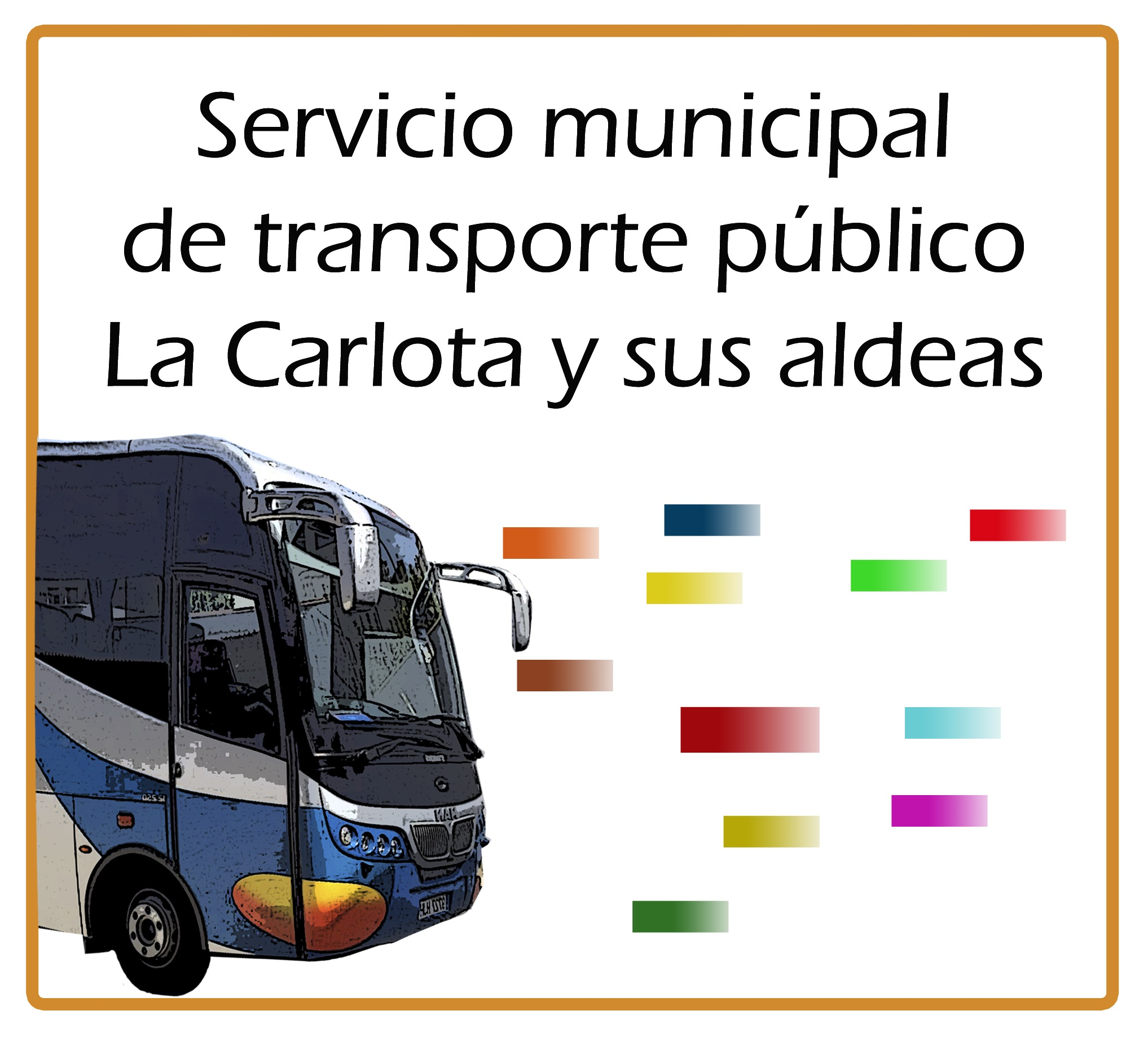 Transporte municipal urbano LaCarlota 1