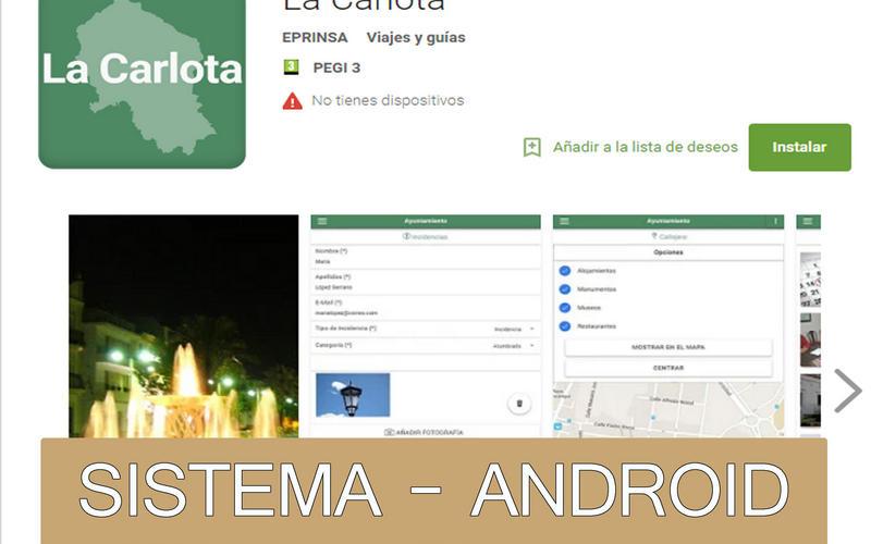APP OFICIAL DEL AYUNTAMIENTO DE LA CARLOTA- ANDROID