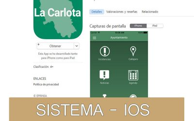 APP OFICIAL DEL AYUNTAMIENTO DE LA CARLOTA- IOS
