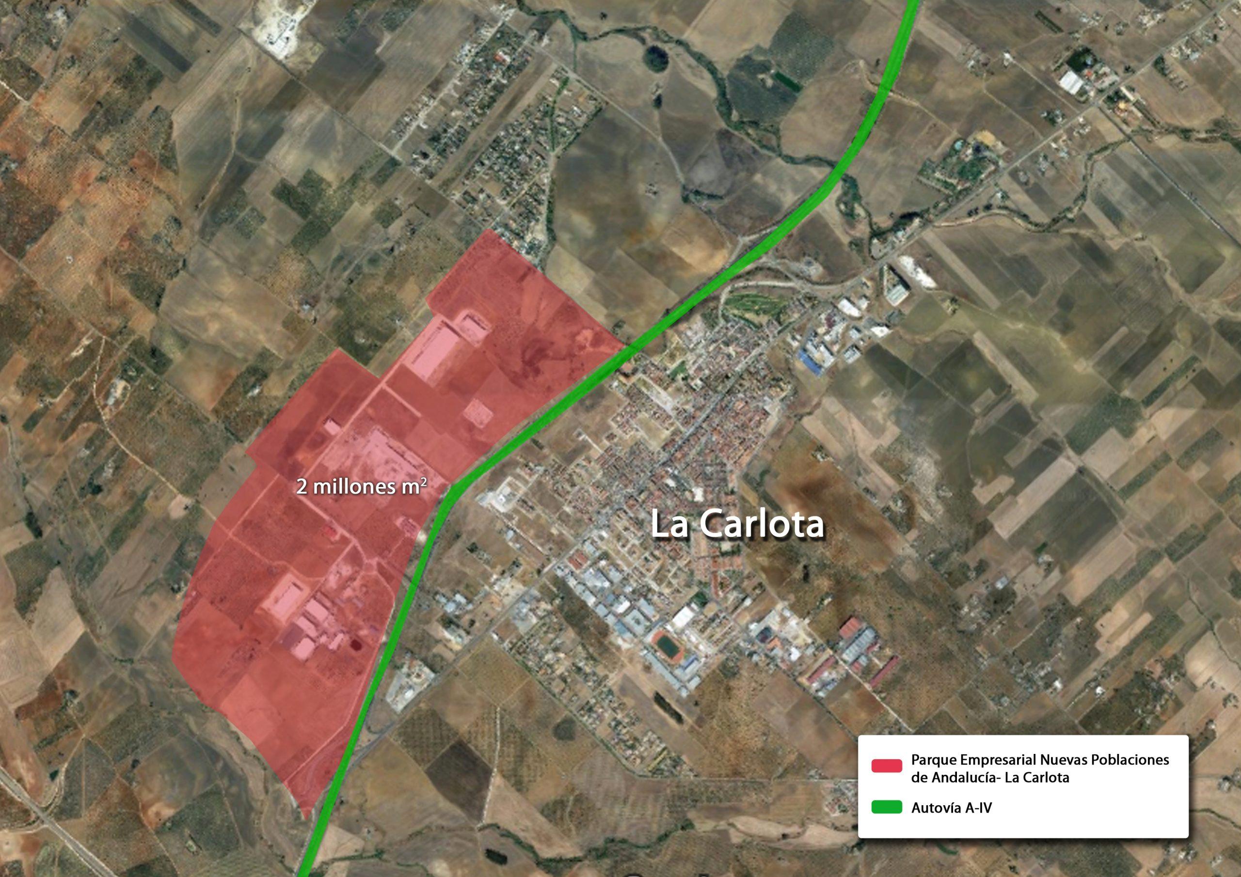 El Parque Empresarial Nuevas Poblaciones de Andalucía - La Carlota 1