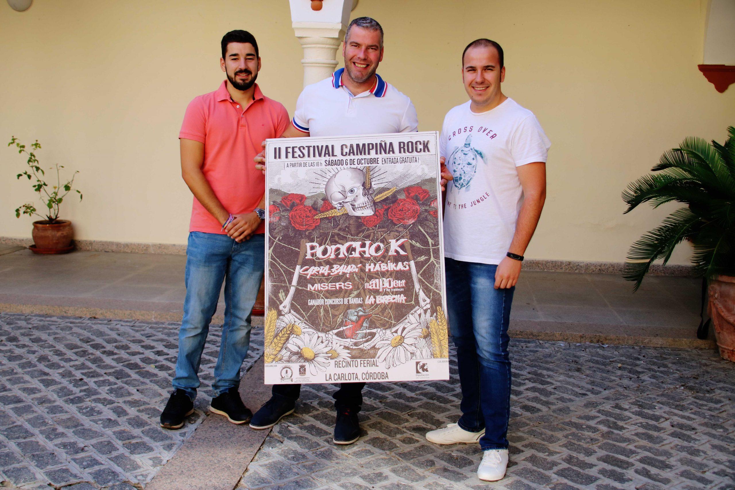 LA CARLOTA CELEBRA SU II FESTIVAL CAMPIÑA ROCK ESTE SÁBADO 6 DE OCTUBRE 1