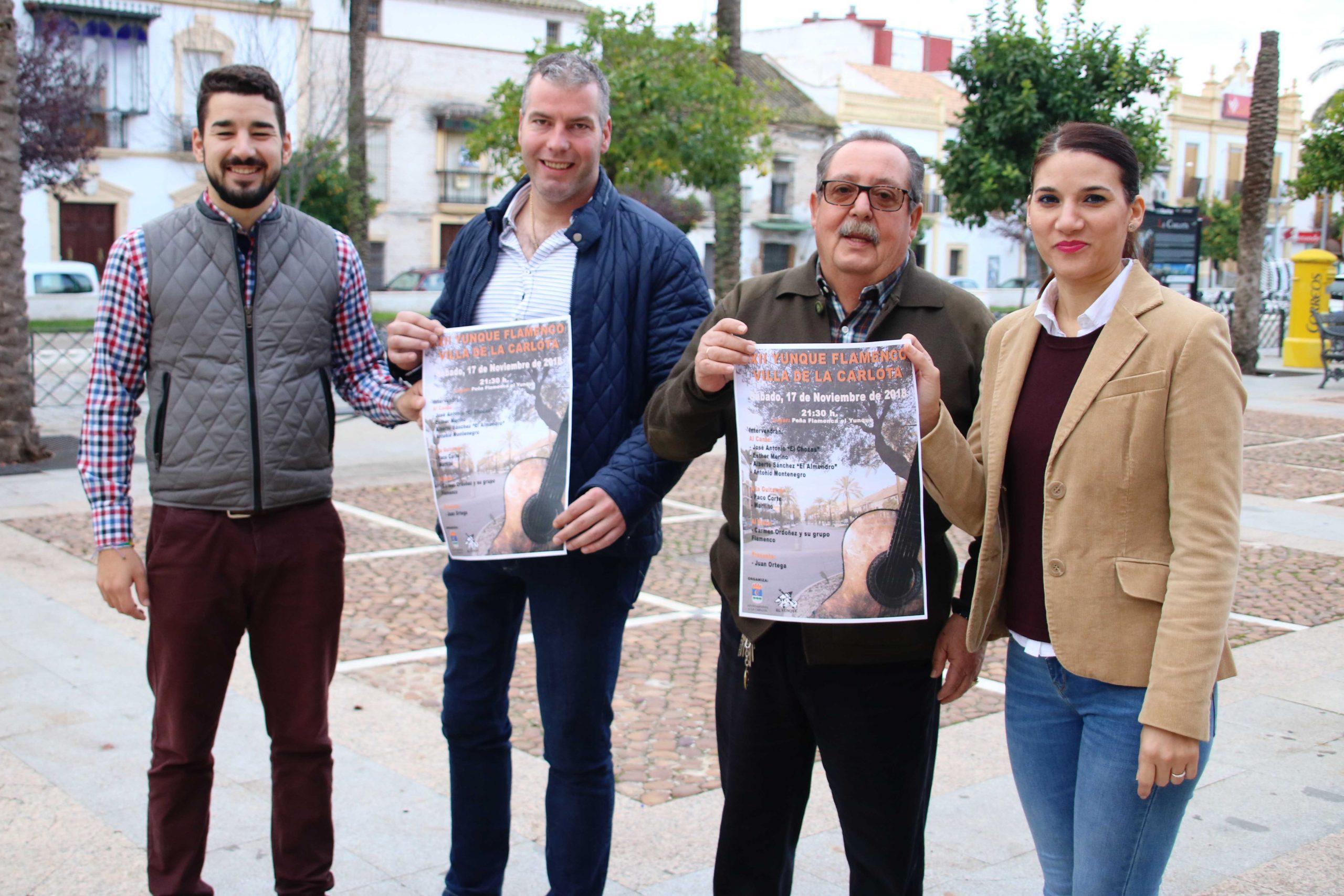 LA CARLOTA CELEBRARÁ SU XXII FESTIVAL 'YUNQUE FLAMENCO' EL 17 DE NOVIEMBRE 1
