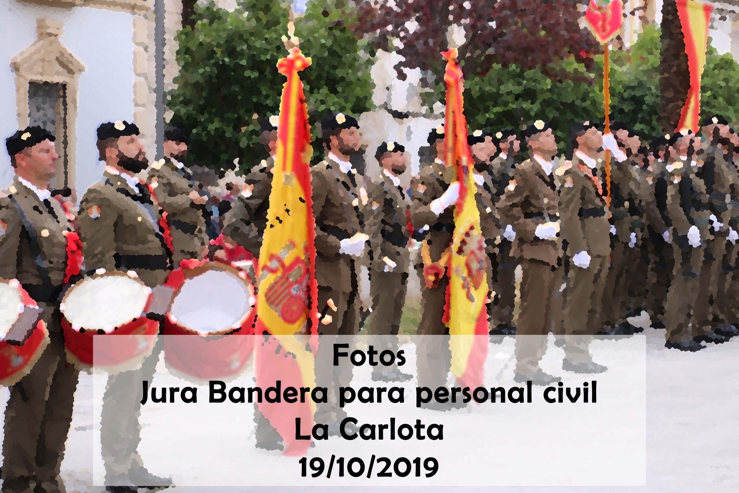 Fotos Jura Bandera para personal civil La Carlota 1