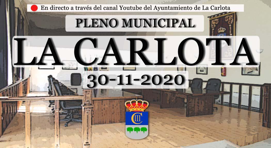 PLENO MUNICIPAL DE LA CARLOTA NOVIEMBRE 2020  1
