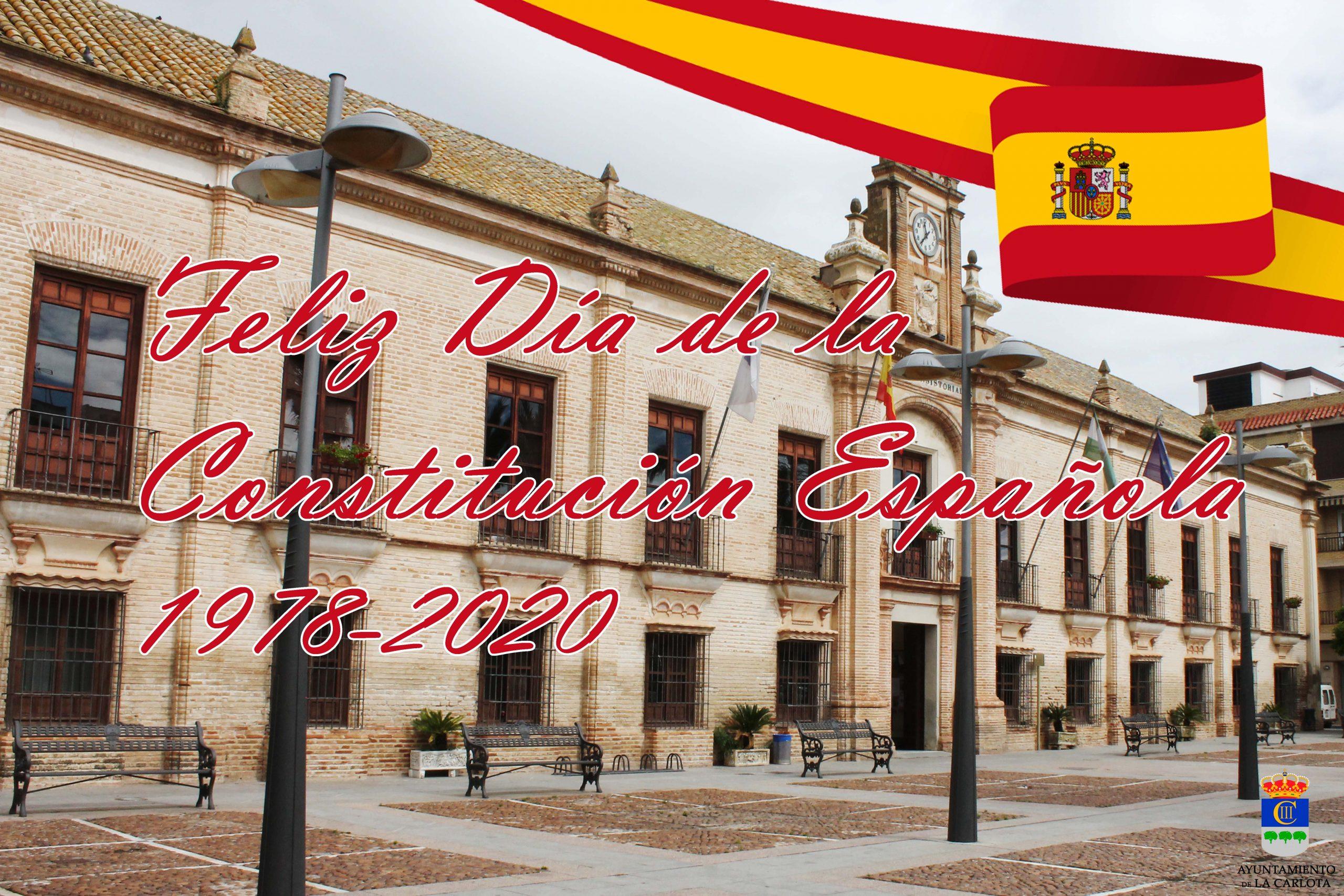 6 DE DICIEMBRE DÍA DE LA CONSTITUCIÓN ESPAÑOLA  1